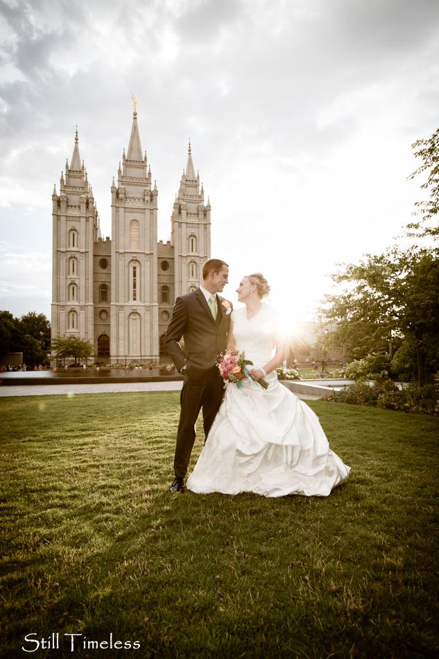 Salt lake temple wedding photos still timeless blog for Affordable utah wedding photographers